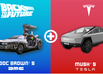 Tesla Cyber truck - The DeLorean re-invented?!
