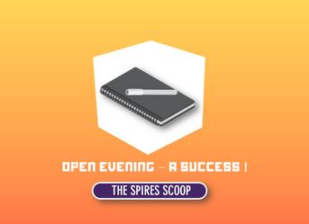 Open Evening - A Success!