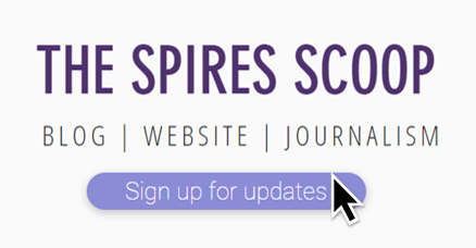 How to sign up to email updates - The Spires Scoop guide
