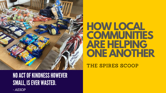 Local Communities helping one another - The Spires Scoop