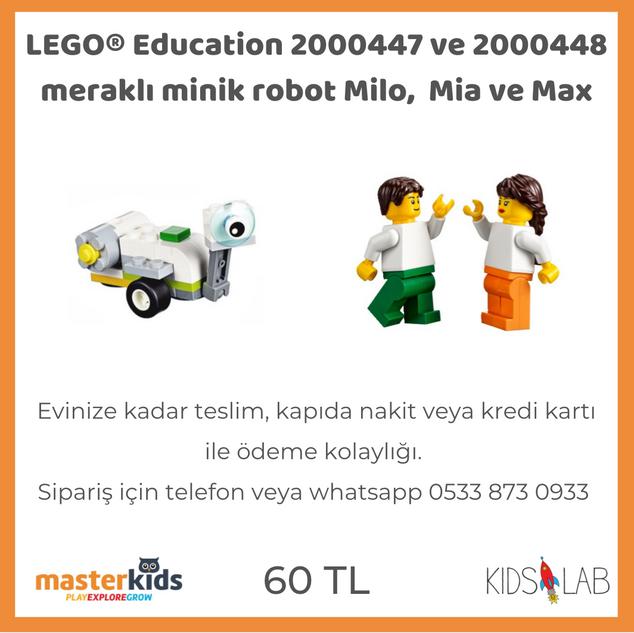 LEGO® Education Milo, Mia ve Max