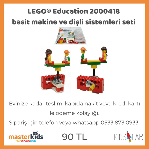 LEGO® Education basit makineler