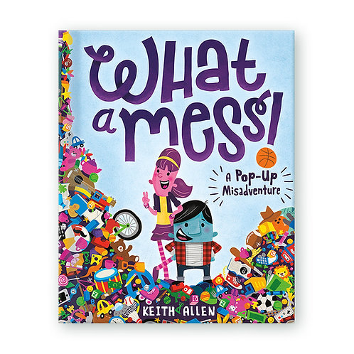'What a Mess! A Pop-Up Misadventure' Pop-Up Book