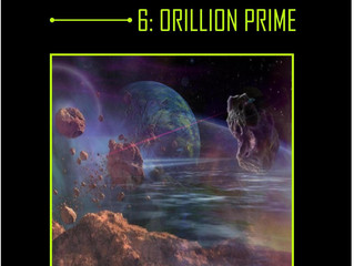 INTERSTELLAR - A Series of Science Fiction Adventure Stories - 6 Orillion Prime