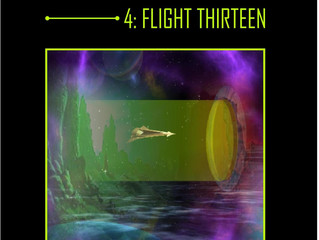 INTERSTELLAR - A Series of Science Fiction Adventure Stories - 4 Flight Thirteen