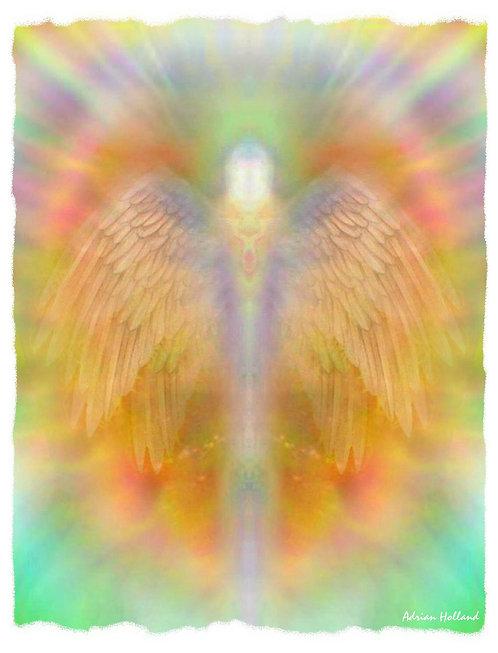 A3 Blissfulness Framed Print