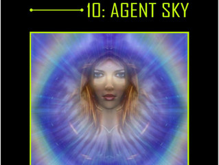 INTERSTELLAR - A Series of Science Fiction Adventure Stories - 10 Agent Sky