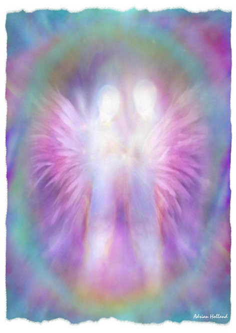 A4 Divine Unity Framed Print