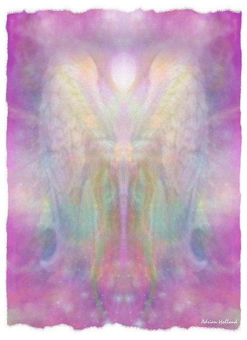 A4 Divinity Framed Print