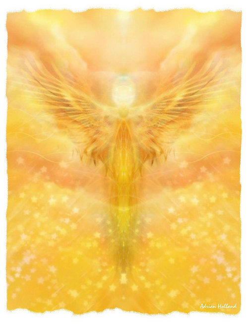 A4 Phoenix Framed Print