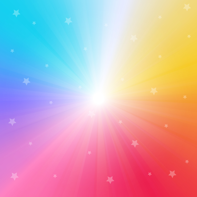 Pngtree rainbow gradient background with