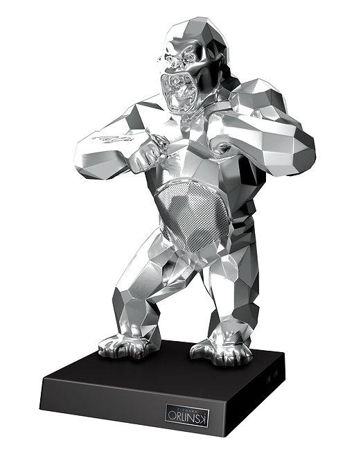 Kiwikong Orlinski Silver + Valise Black Gold