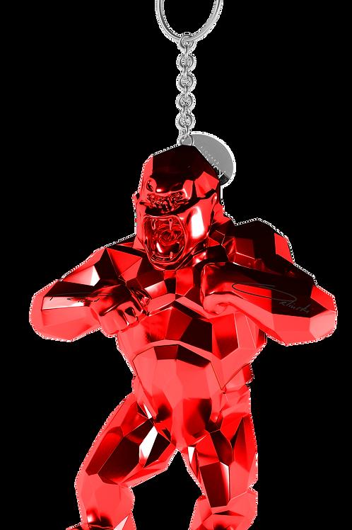 Porte Clé USB kong Orlinski rouge Silver 64 Go