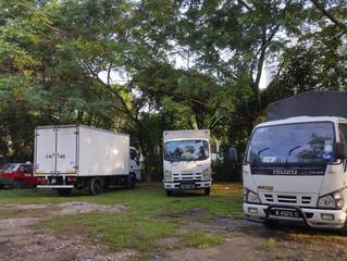 Perkhidmatan lori sewa Subang