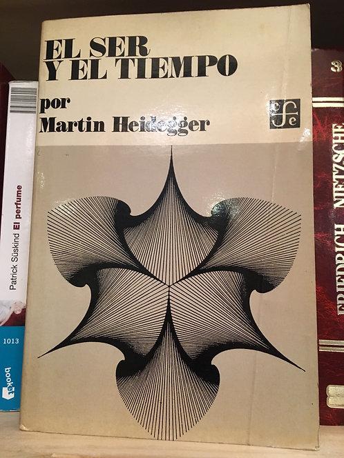 Ser y tiempo. Martin heidagger