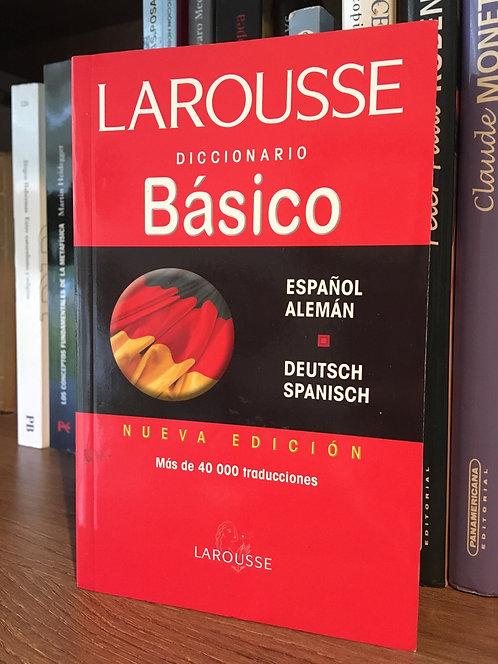 Diccionario  Laurusse Español Alemán