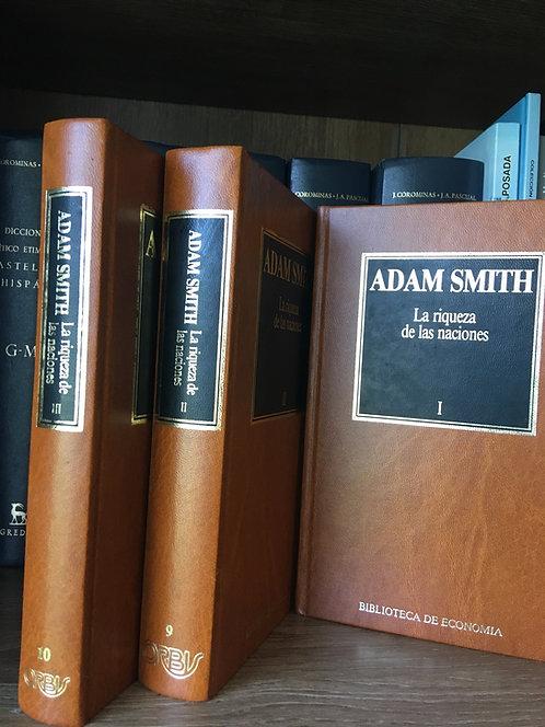 La historia de la  riqueza .Adam Smith