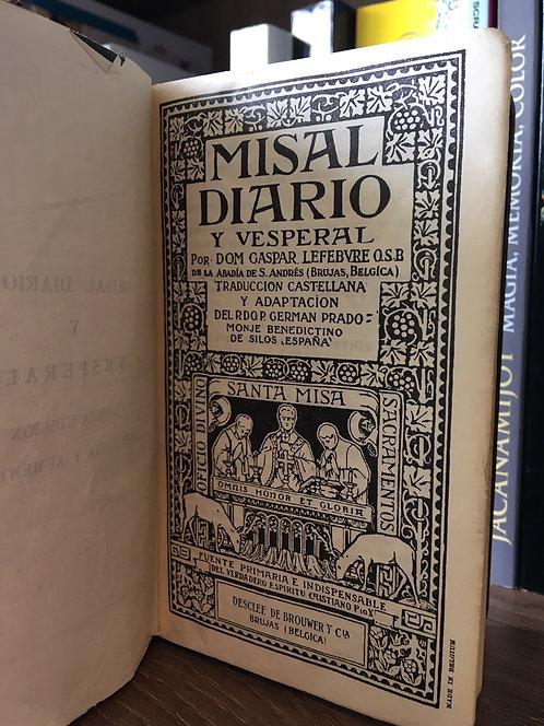 Misal español latín