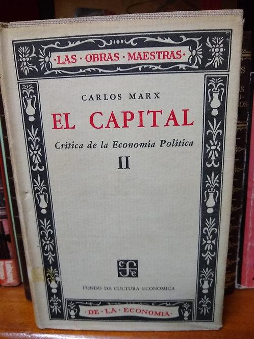 El capital  2 y 3 Karl Marx
