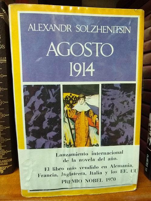 Agosto 1914. Alexander  Solzhenitsyn