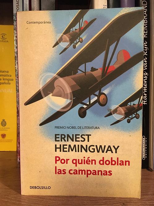 Por quién  doblan las campanas Ernest Hemingway