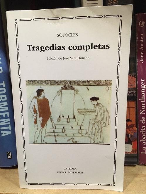 Tragedias completas . Sófocles