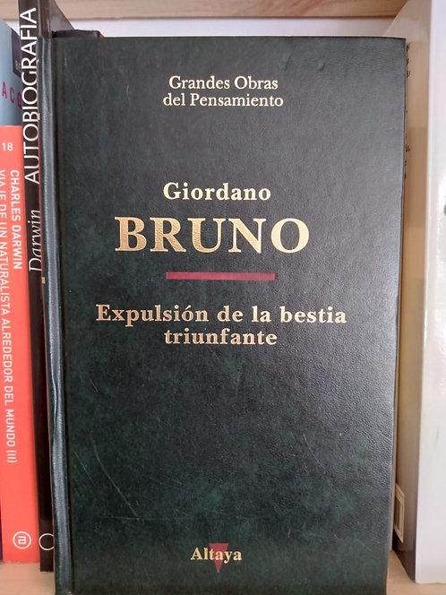 Expulsión de la bestia triunfante . Giordano Bruno