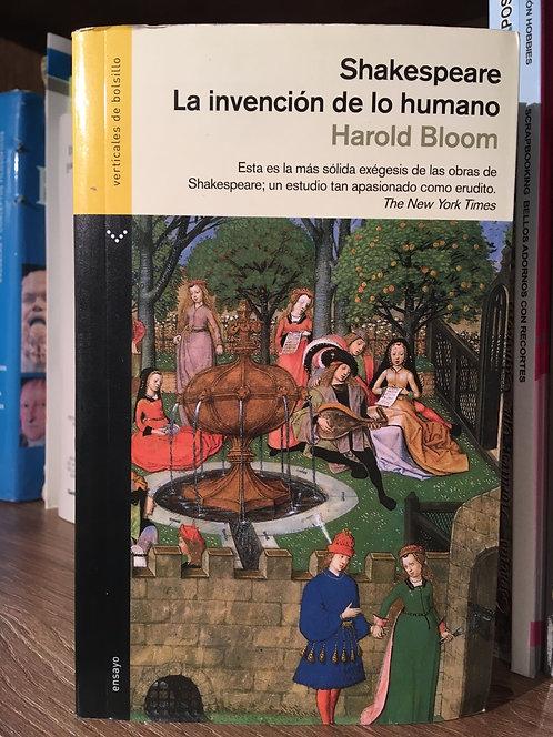 Shakespeare. La invención de lo humano. Harold Bloom
