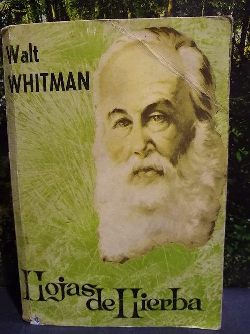 Hojas de hierba. Walt Whitman