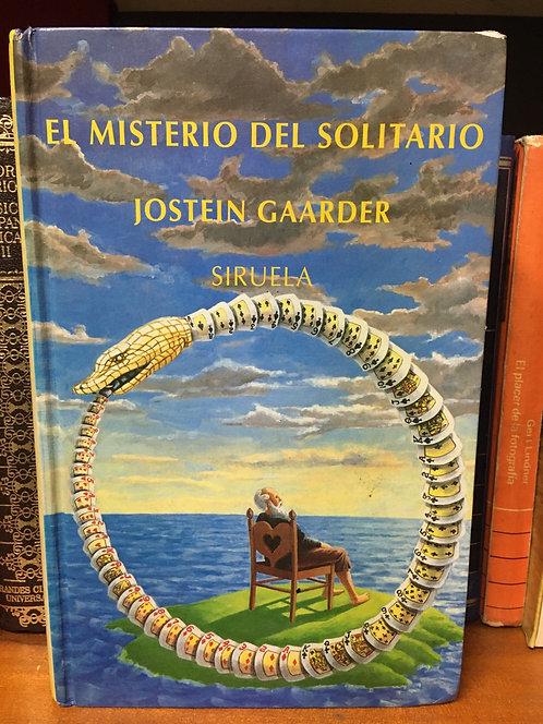 El misterio  del solitario Joostein Gaarder