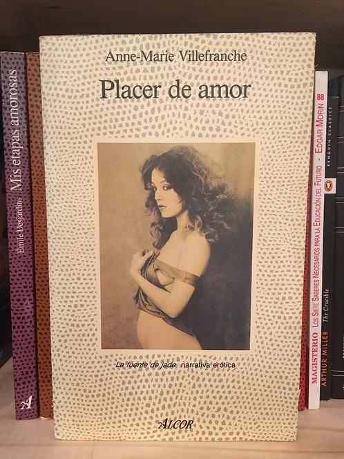 Placer de amor. Allen-Marie Villenfranche
