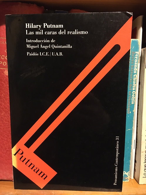 Las mil caras del realismo. Hilary Putnam