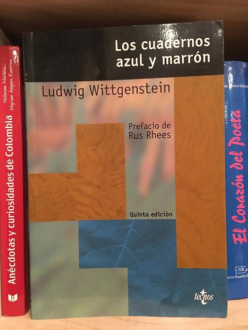 Los cuadernos azul marrón. Ludwig Wittgetstein