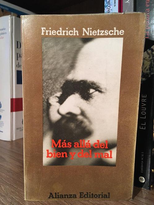 Más allá del bien y del mal. Friedrich Nietzsche