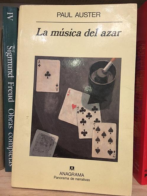 La música del azar. Paul Auster