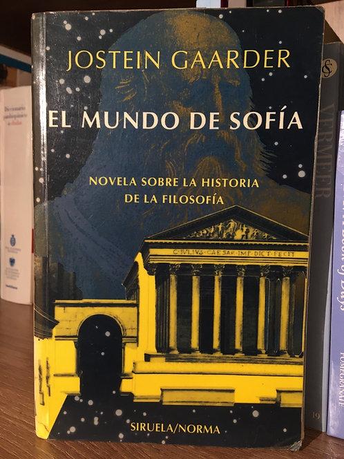 El mundo de Sofía Joostein Gaarder