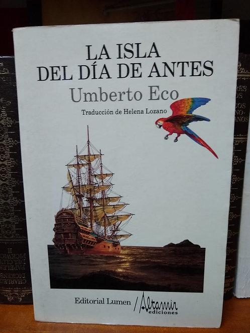 La isla del día de antes Umberto eco