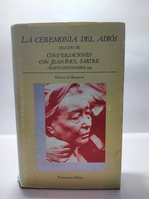 La ceremonia del adiós Simone de Beauvoir