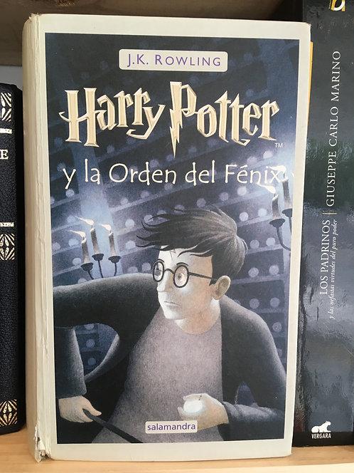 Harry potter y la orden del fénix. J. k. Rowling
