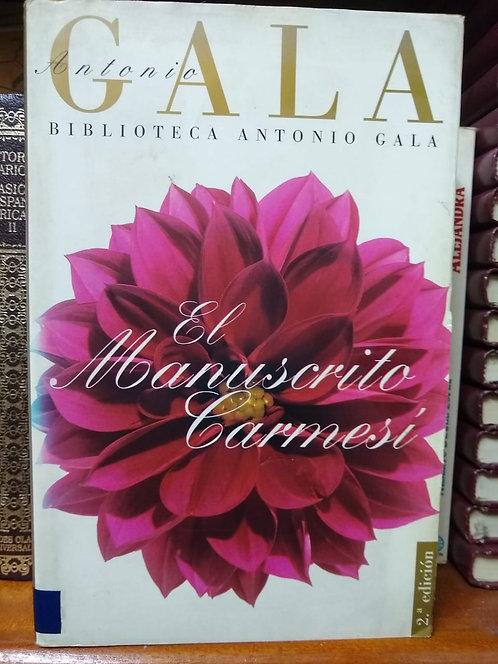 El manuscrito carmesí. Antonio Gala