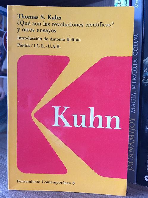 ¿Qué son las revoluciones  científicas? Thomas Kuhn