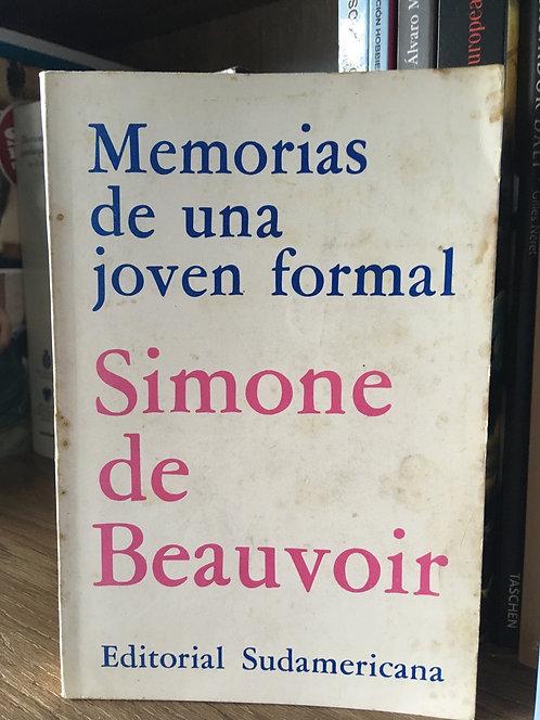 Memorias de una joven  formal Simon de Beauvoir
