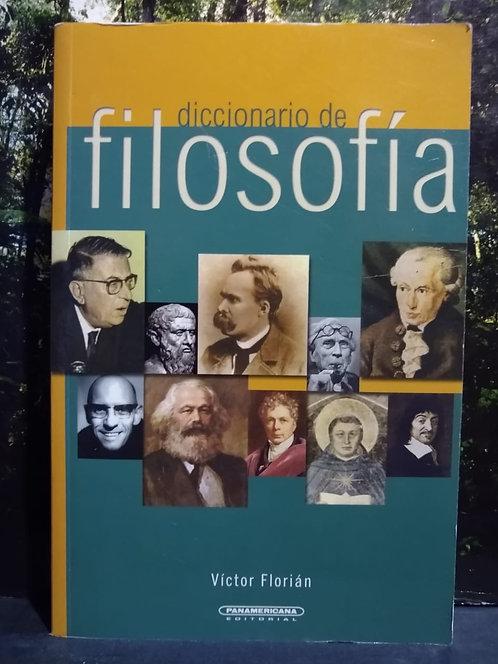 Diccionario de filosofía. Victor Florian