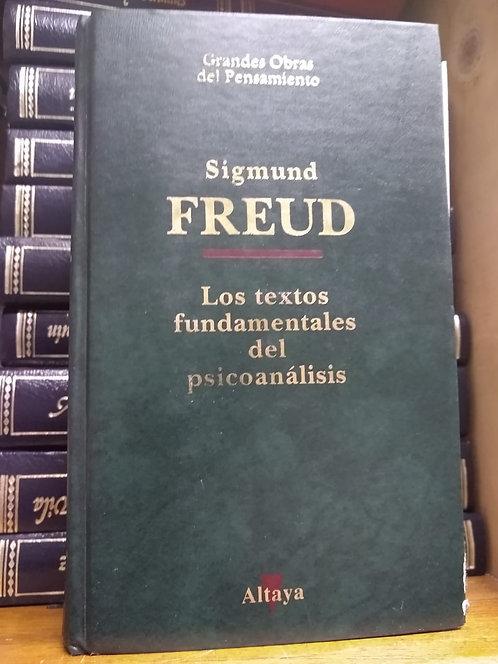 Los textos fundamentales de psicoanálisis Sigmund Freud