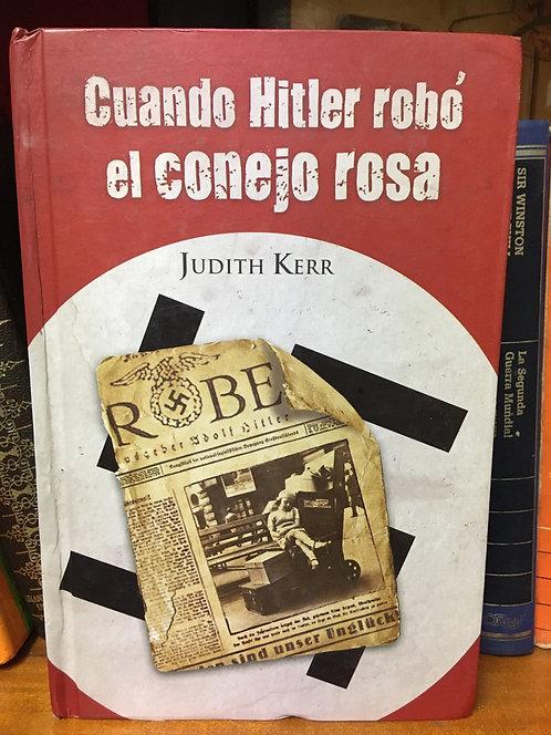 Cuan Hitler robó el conejo rosa Judith Kerh