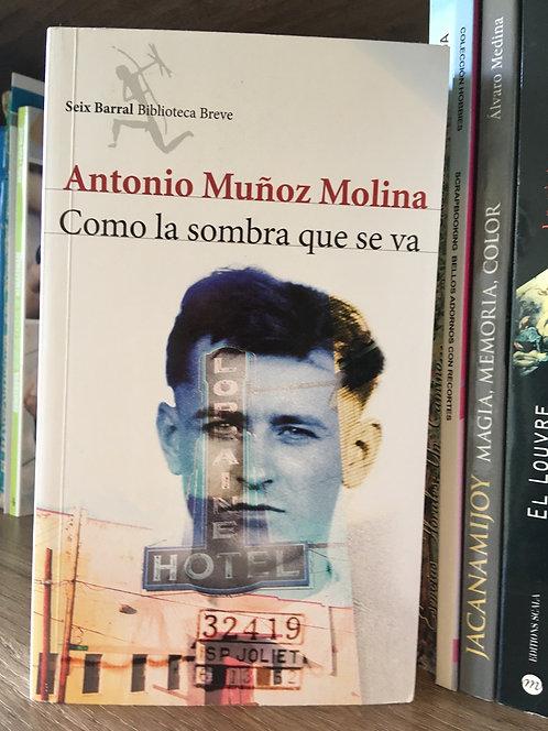 Como la sombra que se va Antonio Muñoz Molina