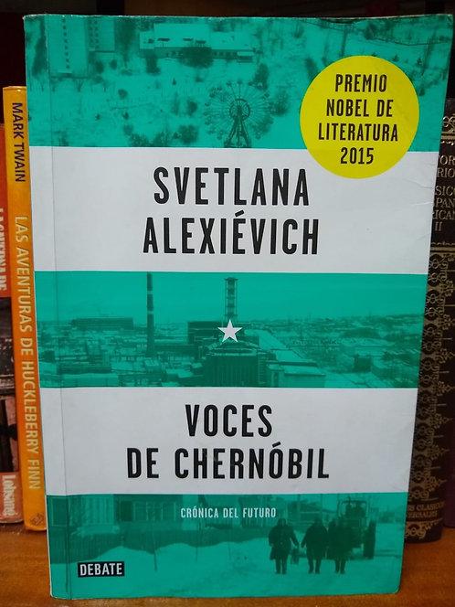 Voces de Chernóbil Svetlana Alexiévich