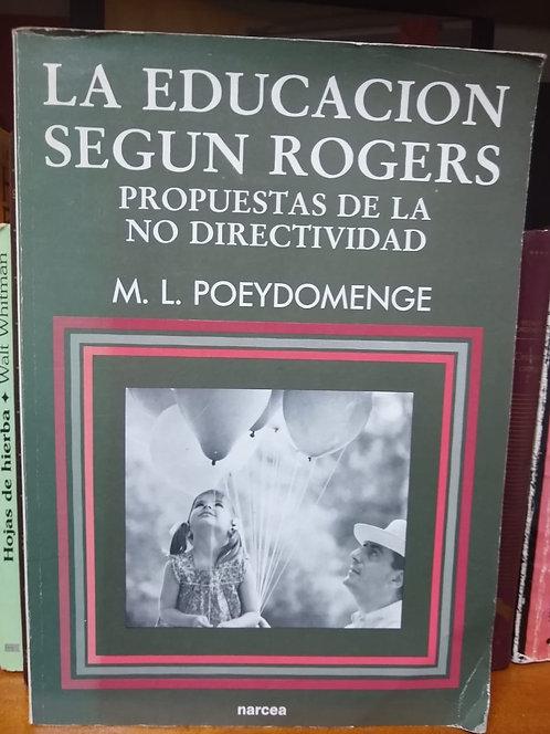 La educación  según  Rogers