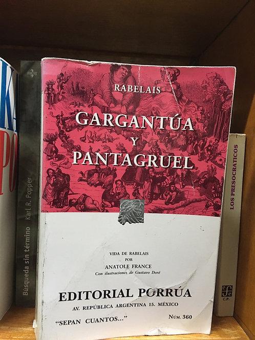 Gargantúa y Pantagruel Rabelais