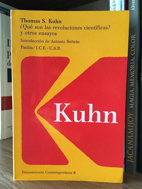 Qué son las revoluciones científicas Thomas S Kun